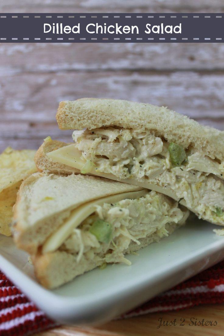 ... salad with dill dill chicken salad bagel chicken salad sandwich hit