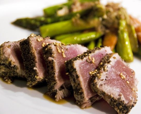 ... Seared Ahi Tuna http://ahitunarecipes.com/sesame-seared-ahi-tuna