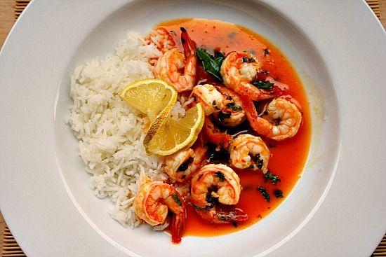 Thai Shrimp, Made with Powdered Coconut Milk | Recipe