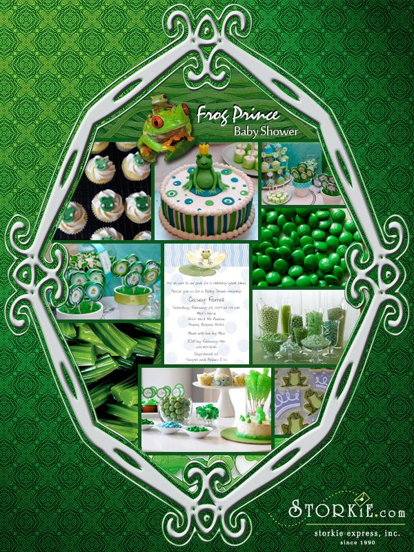 frog prince baby shower theme ideas babyshower ideas pinterest