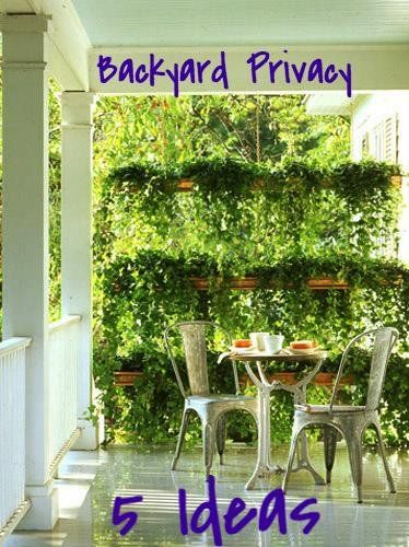 Landscaping Ideas For Backyard Privacy : Landscaping Ideas to Increase Backyard Privacy #landscaping #privacy