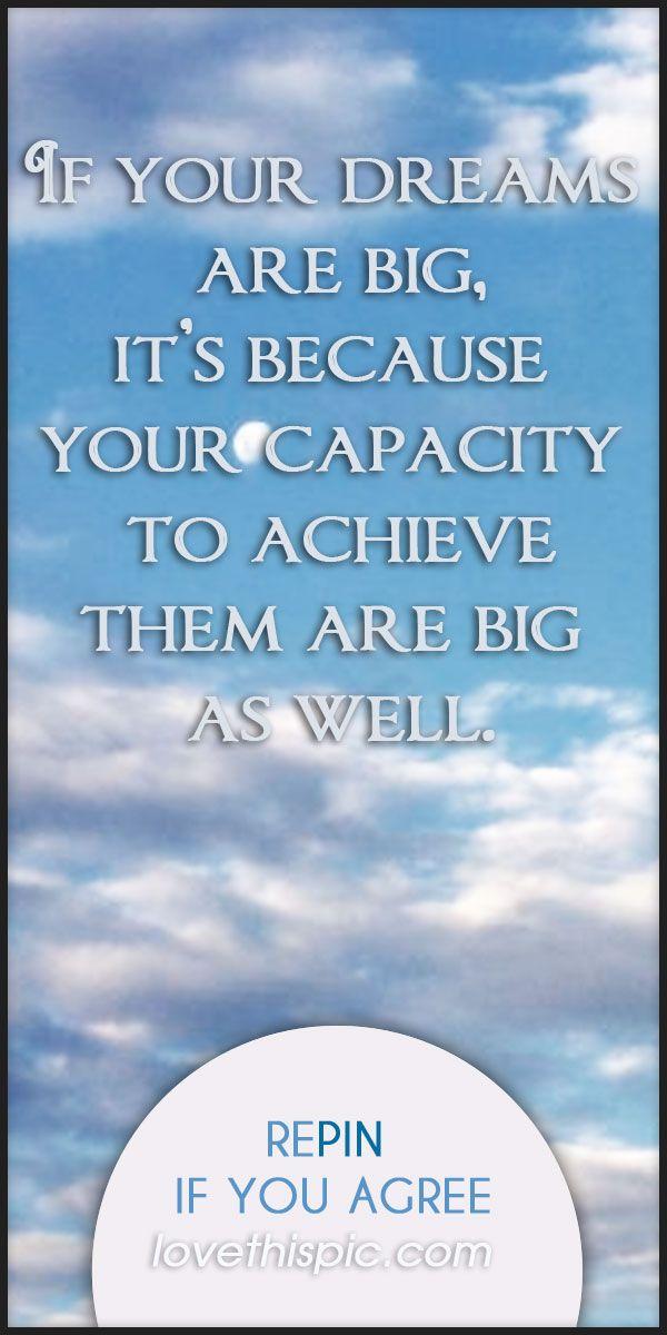 dream big quotes quotesgram