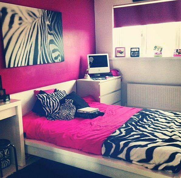 Zebra Pink Girls Room For The Girls Pinterest