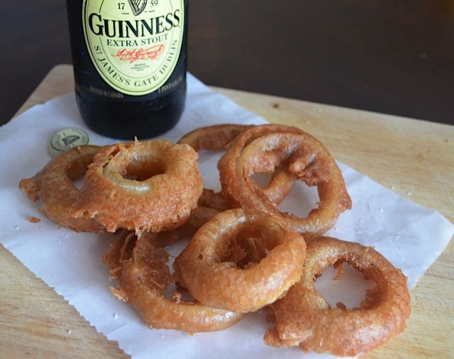 Stout-Battered Onion Rings | Tips From Town