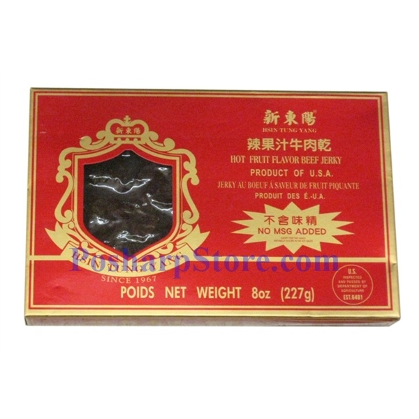 Hsin Tung Yang Hot Fruit Flavored Beef Jerky