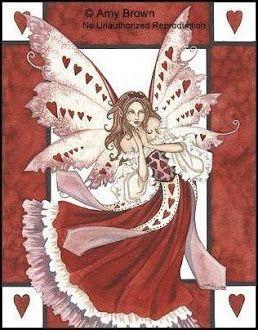 valentine's day fairy cakes