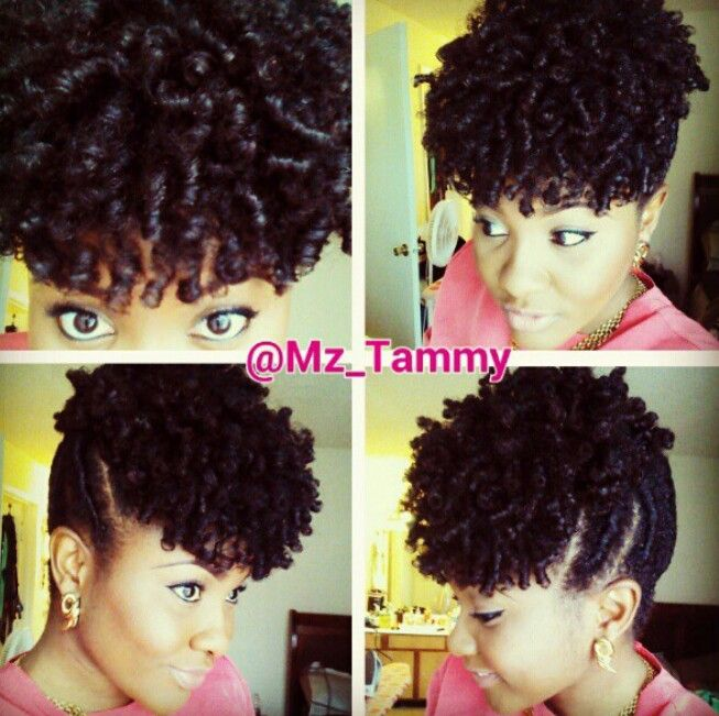 natural nappy hairstyles : Perm rods New Me!!! Pinterest
