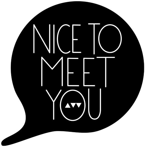 nice to meet you | most AWESOME event EVER | Pinterest