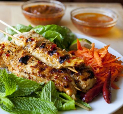 Grilled Lemongrass Chicken Recipes — Dishmaps