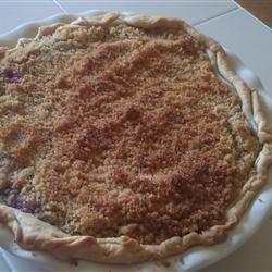 Raspberry Sour Cream Pie Allrecipes.com | (A) Pies and Tarts | Pinter ...