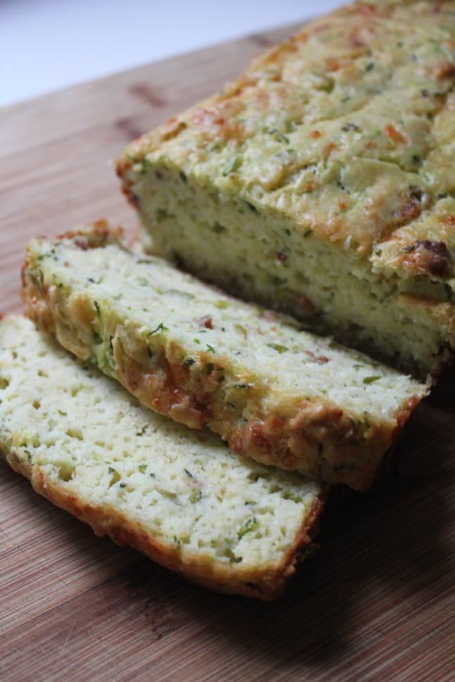 Bacon-Cheddar Zucchini Bread