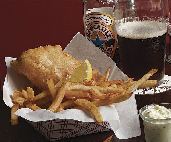 Fish and Chips with Tartar Sauce by Fine Cooking | ~food~ | Pinterest