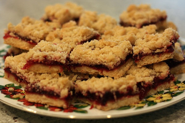 Cranberry Streusel Shortbread Bars | Food - Candy & Bars | Pinterest
