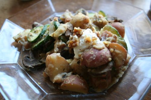 Provençal Potato Salad--recipe in post | Food | Pinterest
