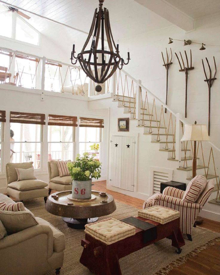 Best Nautical Style Railing Living Spaces Pinterest 640 x 480