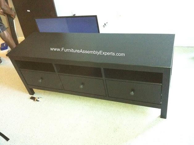 Ikea Leksvik Kinderbett Neupreis ~ ikea Hemnes tv stand assembled in Baltimore MD by Furniture Assembly