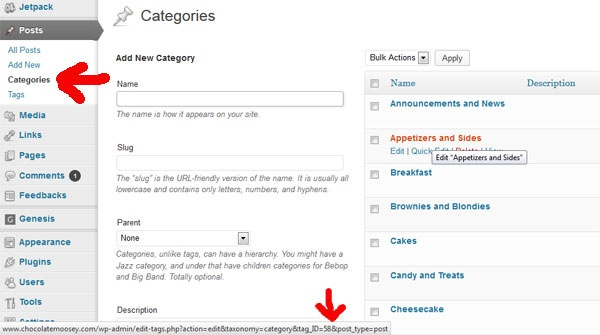 How To Create An Automatic Recipe Index For Wordpress Blogs | Chocolate Moosey
