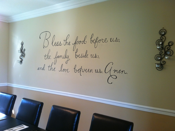 Dining Room Wall Quotes QuotesGram : 30a545194f2fc9df469400f239e391a2 from quotesgram.com size 736 x 549 jpeg 104kB
