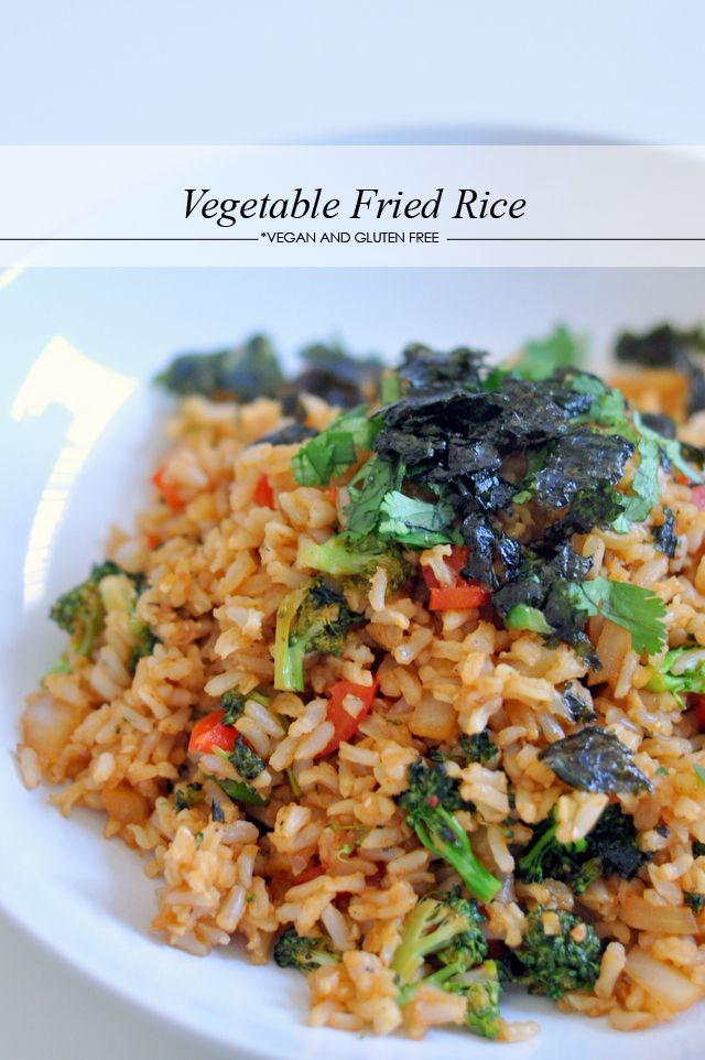 vegetable marinara rice bake spring vegetable meyer lemon brown rice ...