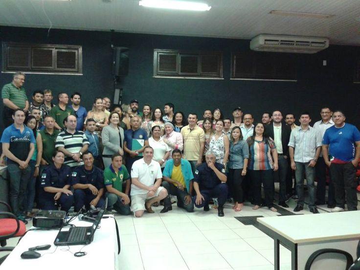 30/11/2014 - 2º dia do IV SEMINÁRIO DE FISCALIZAÇÃO URBANO AMBIENTAL E GUARDA CIVIL MUNICIPAL SEDE FORTALEZA-CE e o III Encontro Regional de Fiscais Urbanísticos, Ambientais e Guardas Municipais.