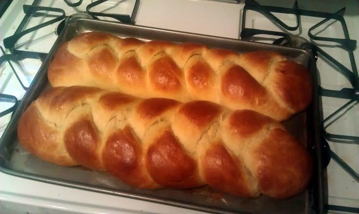 "Challah (Braided Egg Bread)! ""A++ recipe..amazing challah!..and i used ..."