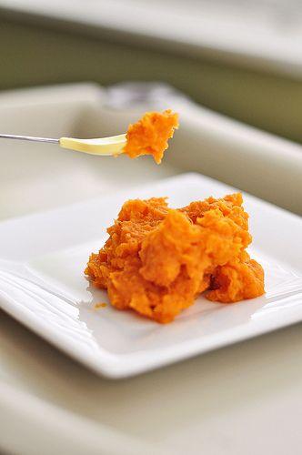 Sweet Potato Puree. High in Vitamin A & Beta Carotene, Potassium ...