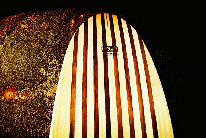 Groundswell hollow wood surfboards