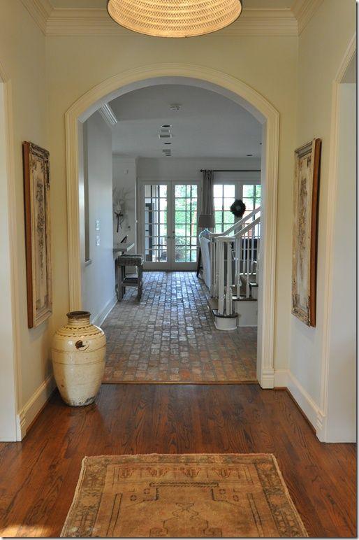 Brick Wood Floors Inspiration For The Home Pinterest