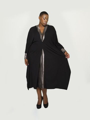 a line plus size attire
