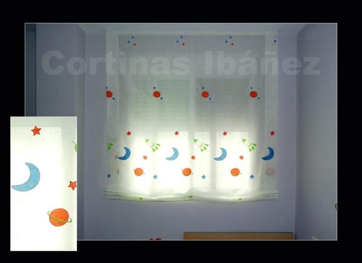 Pin by cortinas iba ez on cortinas ib ez pinterest - Estor visillo ...
