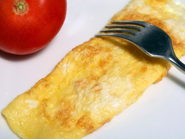 Bacon, Avocado, and Cheese Omelet with tomato salsa | Breakfast ...