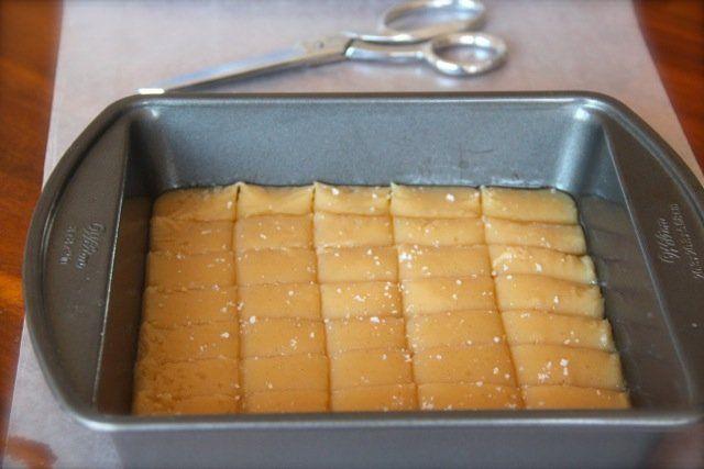 Vanilla Bean & Sea Salt Amish Caramels | Recipe