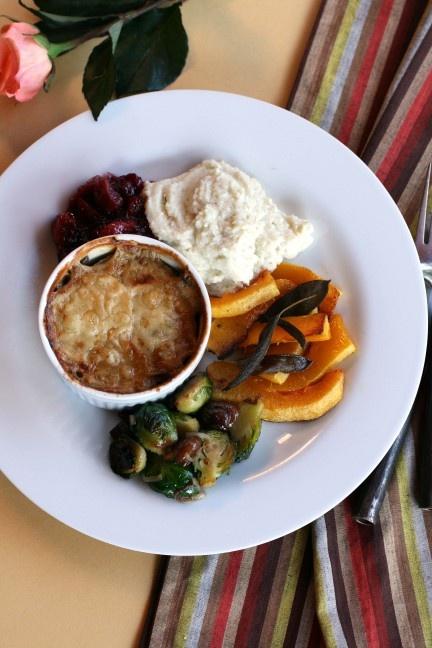 Individual Shiitake Mushroom and Yukon Gold Potato Gratins, by ...