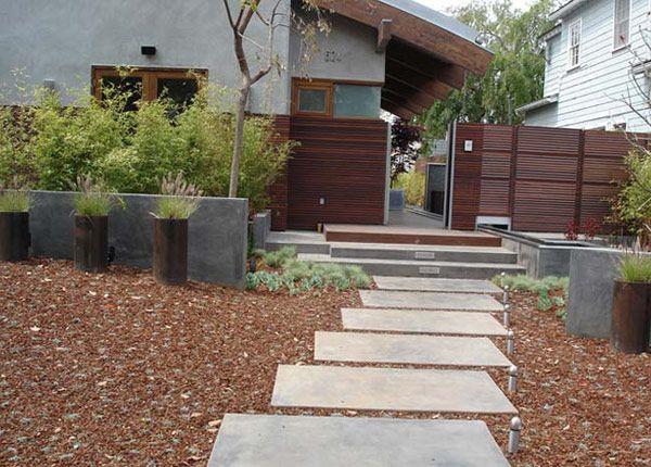 Modern landscaping garden pinterest for Modern backyard landscaping