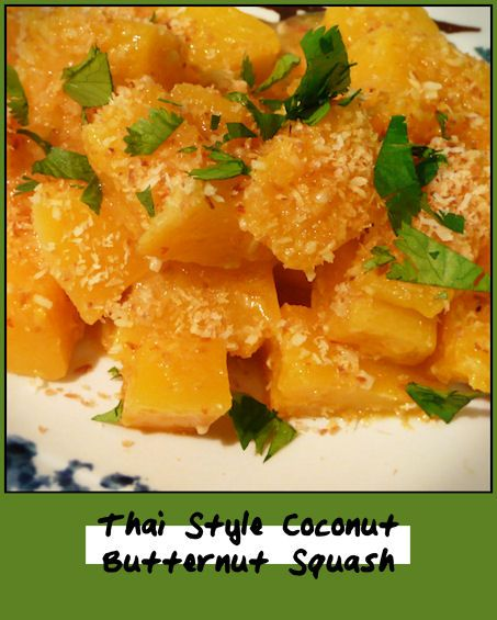 Thai Style Coconut Butternut Squash Recipes — Dishmaps