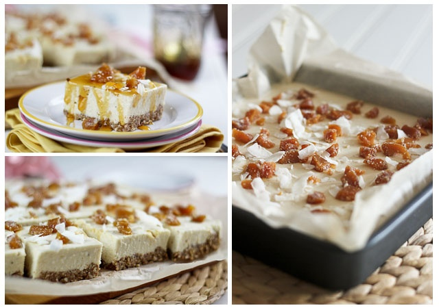 No-Bake High Protein Candied Ginger Cheesecake Bars [Oh, and ...