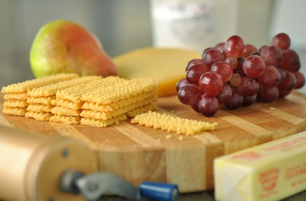 Cheese Straws Crackers _ When I was 12 or 13, my dad brought some ...