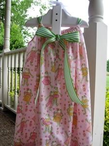 Sweet & Simple Sundress Tutorial  (back of dress shown)