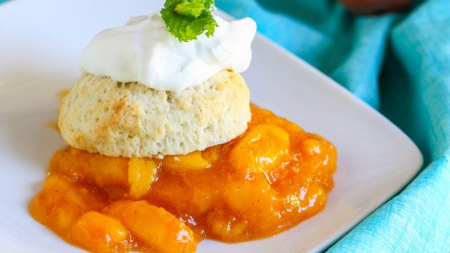 peach shortcake | Cooking | Pinterest