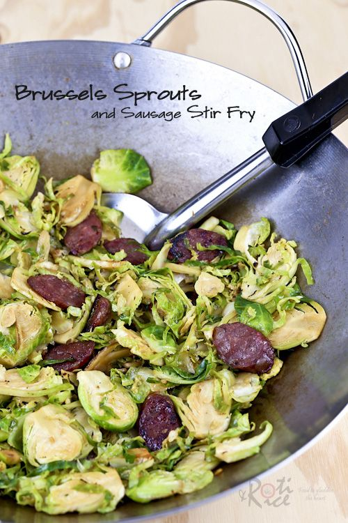 Brussels Sprouts With Chinese Sausage Recipes — Dishmaps