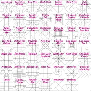 Quilt Pattern Names List : Block names Quilts I love Pinterest