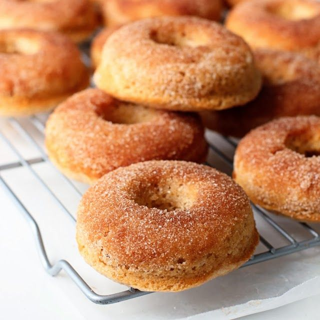 ... Recipes and Cocktails | Two Tarts: Baked Cinnamon Sugar Donuts