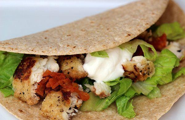 Oven-Crisp Fish Tacos