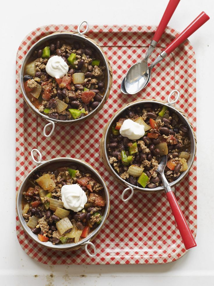 Cooker Chipotle Beef and Black Bean Chili #myplate #slowcooker #beef ...