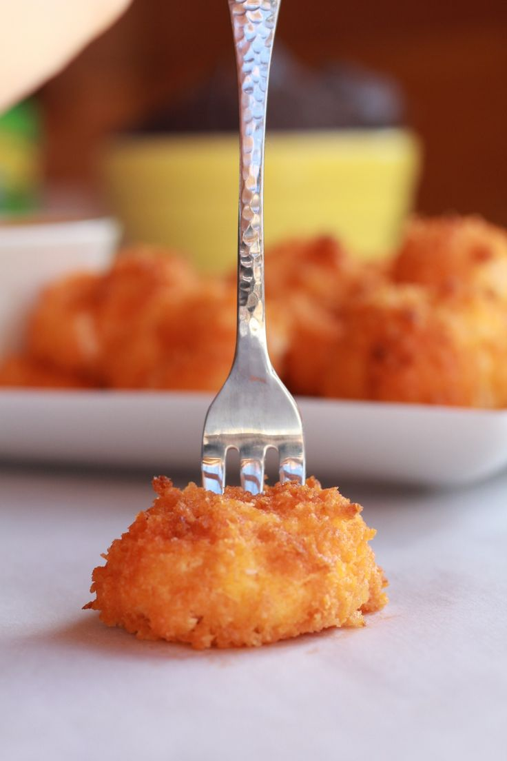 """Buffalo Oven """"Fried"""" Goat Cheese 