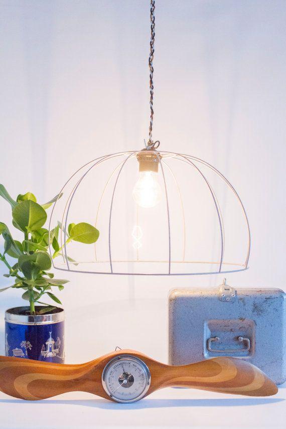 Helena Hanglamp staaldraad lamp voor de woonkamer by SimpeleDingen ...