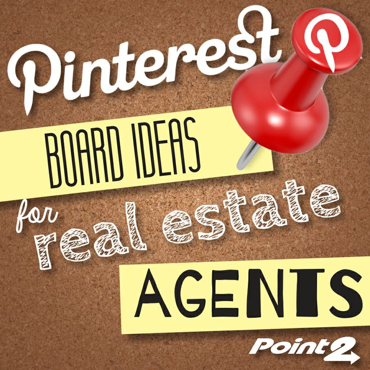 20 Pinterest Boards for #RealEstate | @Point2