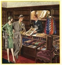 British clothing store ad
