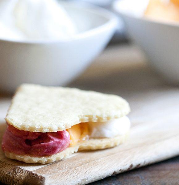 Neapolitan Sorbet Sandwiches - Tablespoon