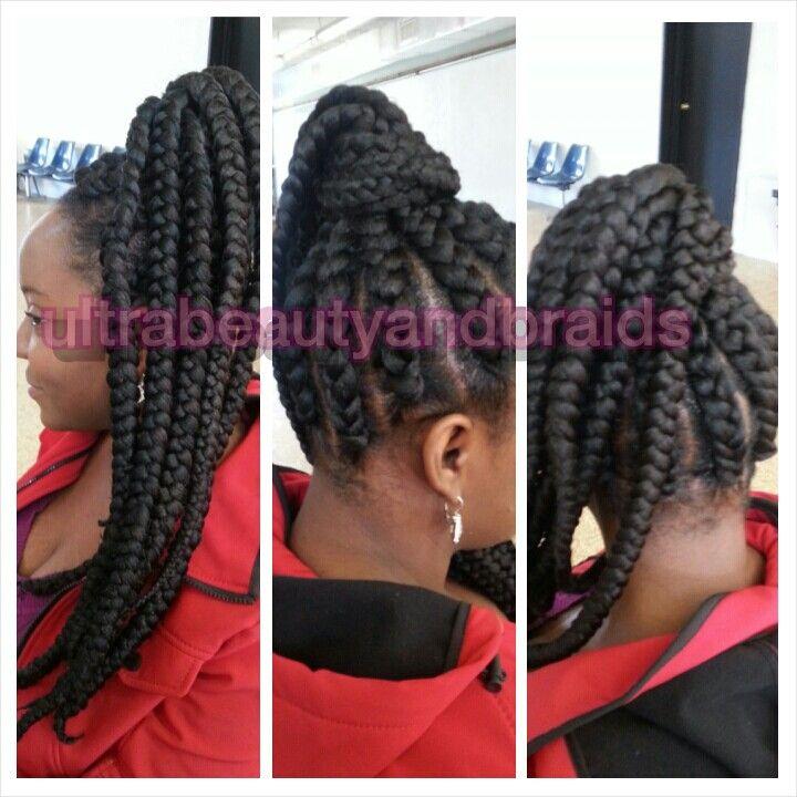 Jumbo Cornrow Braids Goddess braids / jumbo braids
